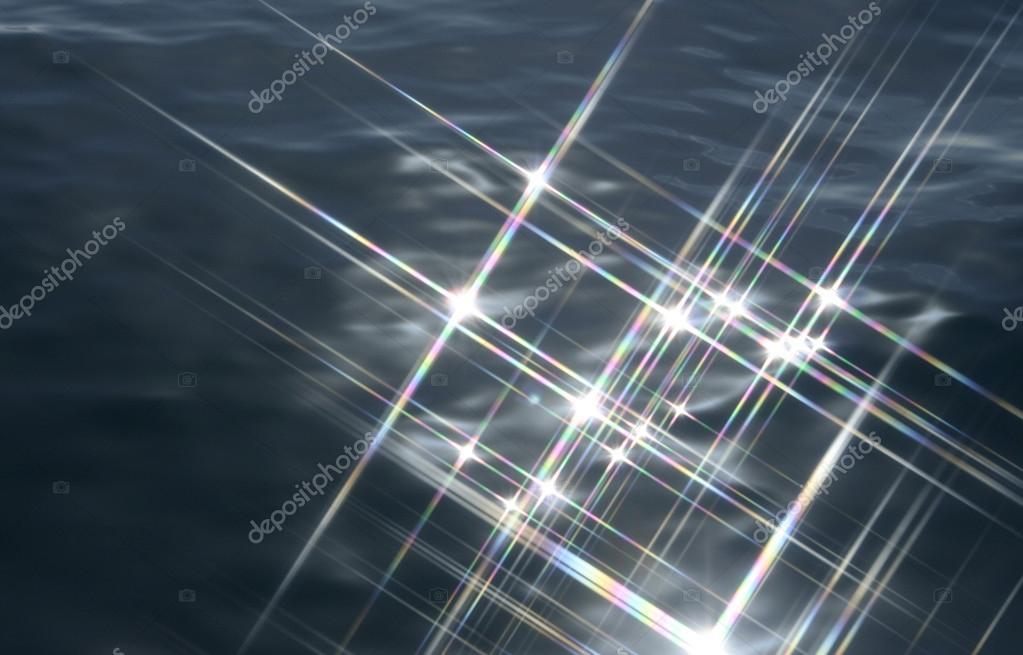 Sparkling ocean water
