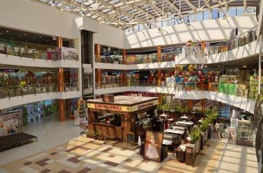 The interior of the shopping Centre in Dmitrov, Russia