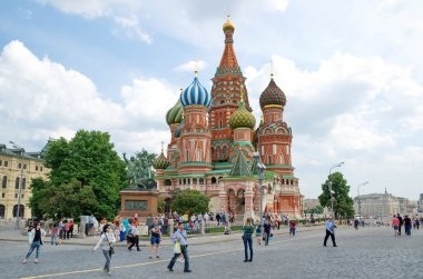 Temple of Basil the blessed, Moscow, Russia