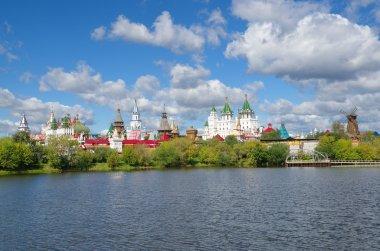 Izmailovo Kremlin and lake, Moscow, Russia