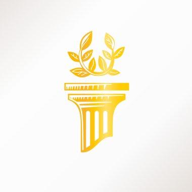 ancient Gold column
