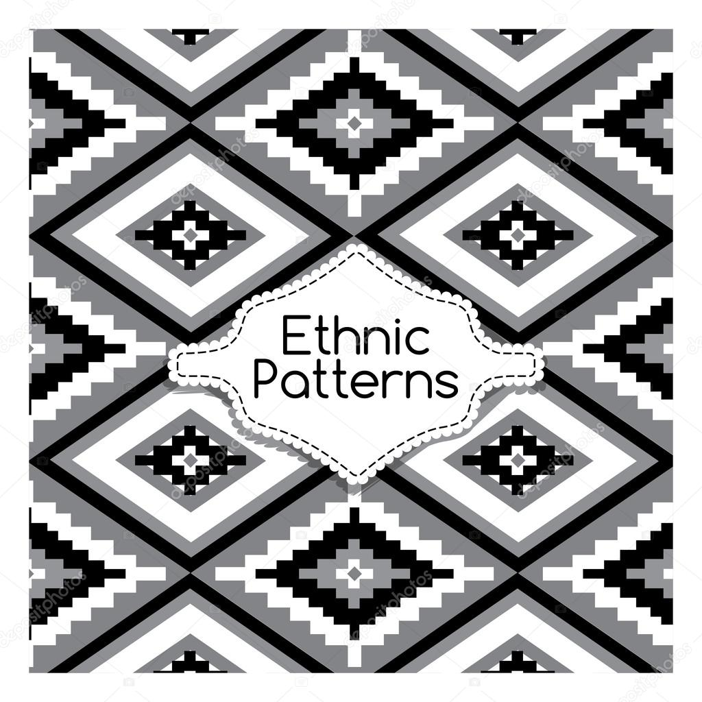 Ethnic Tribes Patterns Ornament