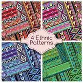 Čtyři kmeny etnické vzory Ornament
