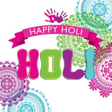 Indian festival Happy Holi celebrations stock vector