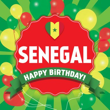 Happy Birthday Senegal - Happy Independence Day