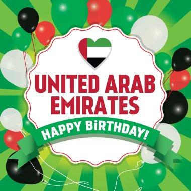 Happy Birthday United Arab Emirates - Happy Independence Day