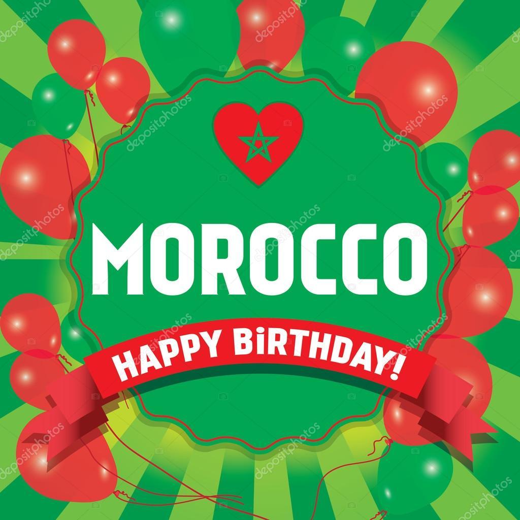 Joyeux Anniversaire Maroc Joyeux Jour De L Independance Image