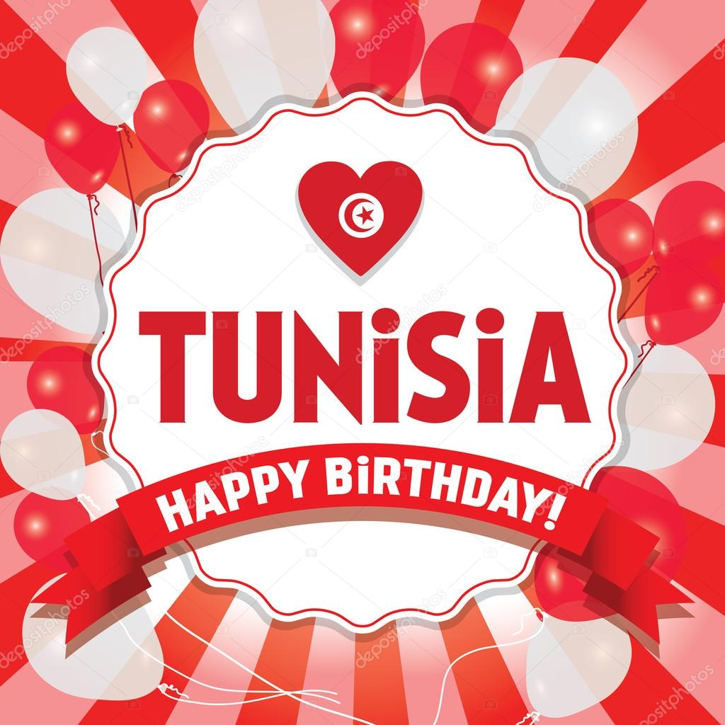 Joyeux Anniversaire Tunisie Joyeux Jour De L Independance Image
