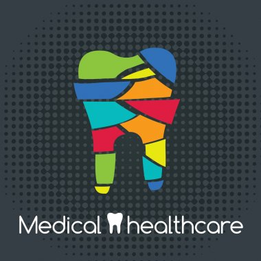 medical healthcare. Tooth Icon