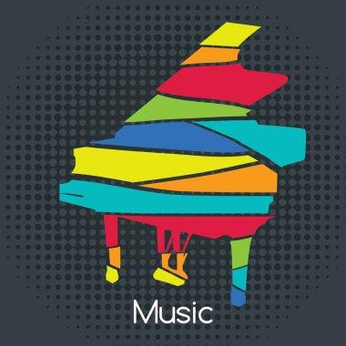 Acoustic Retro Piano
