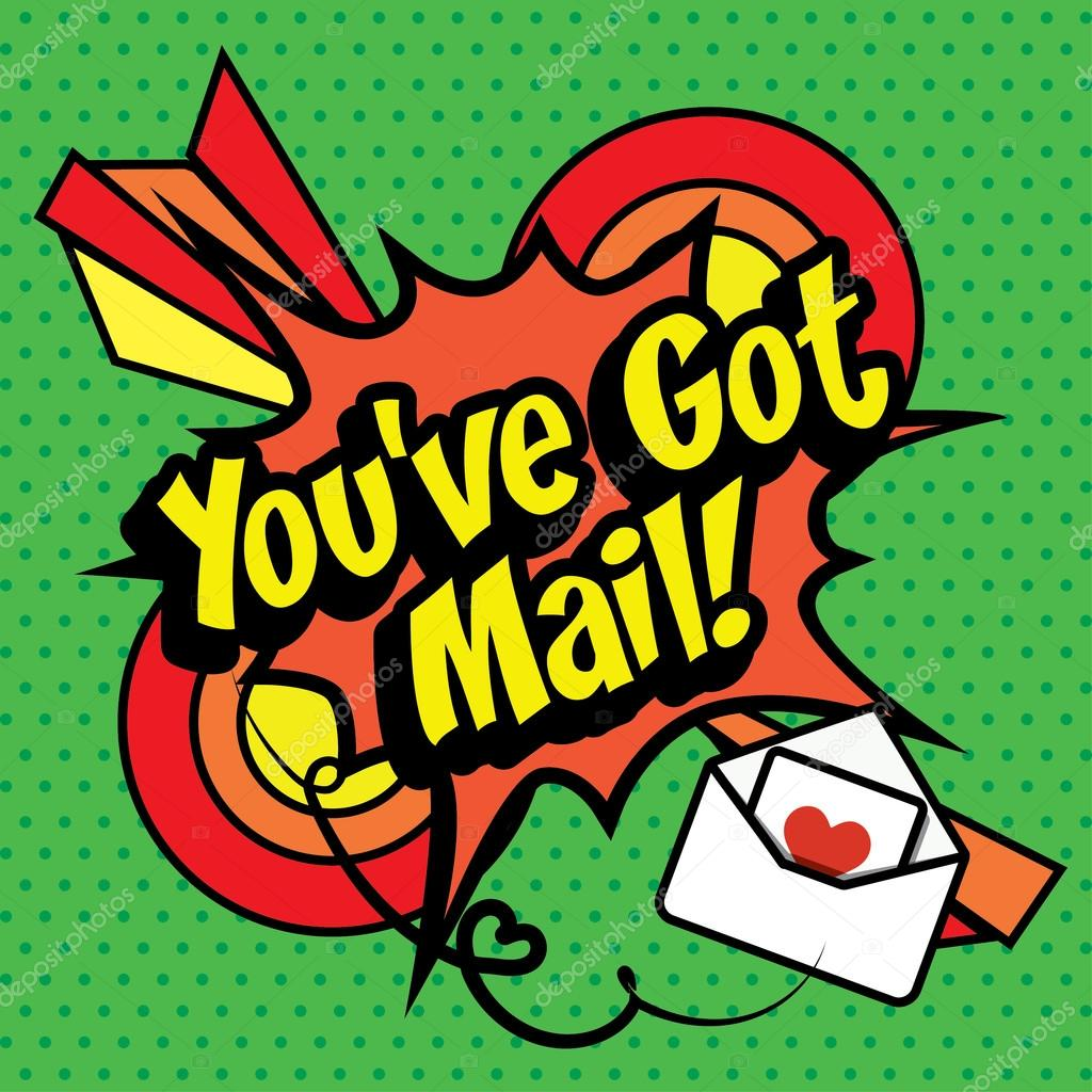 ᐈ You Ve Got Mail Stock Images Royalty Free You Got Mail Vectors Download On Depositphotos