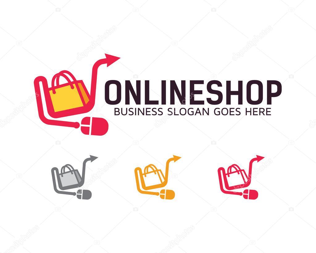 Vector logo para tienda virtual vector logo tienda for Outlet design online