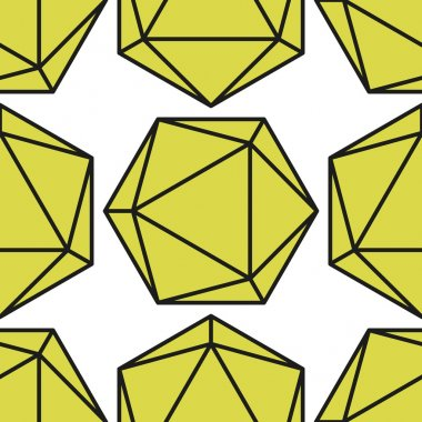 icosahedron pattern vector2
