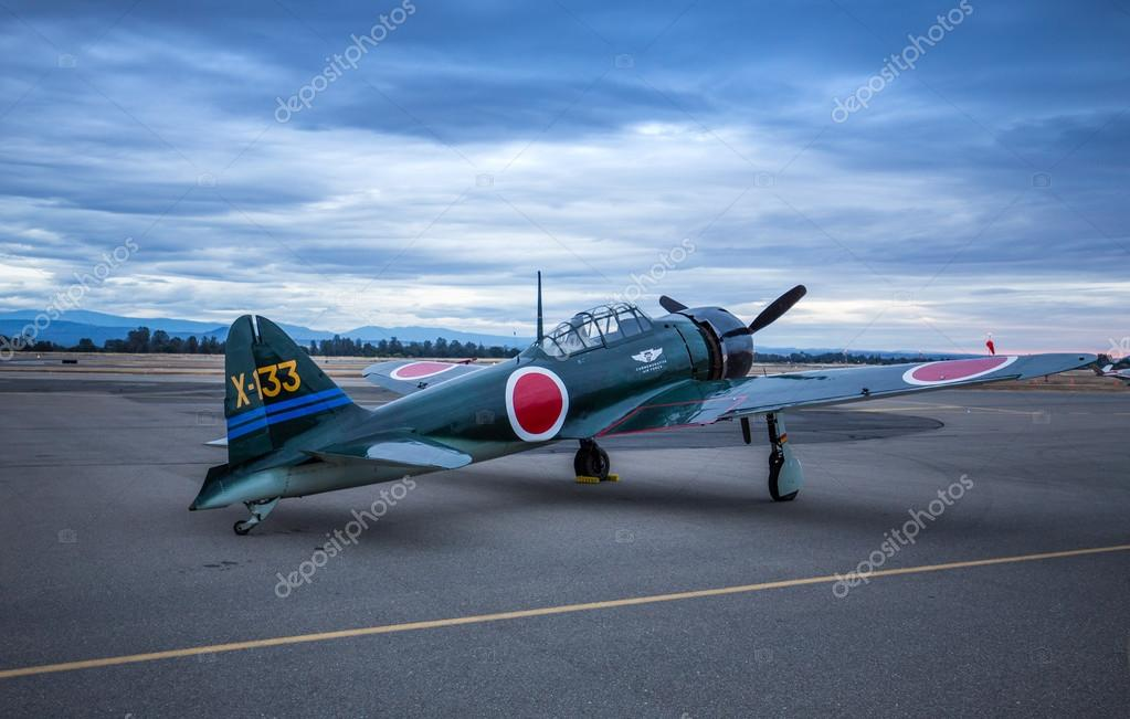 mitsubishi a6m zero – stock editorial photo © teacherdad48 #115758412