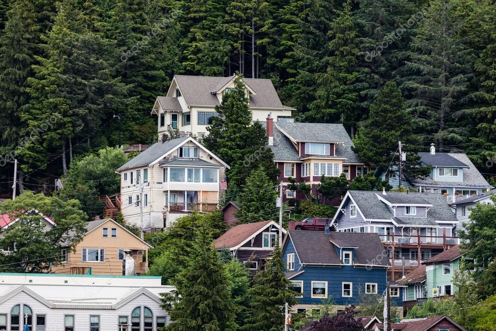Sitka Alaska Casas Fotos De Stock Teacherdad48 118551158