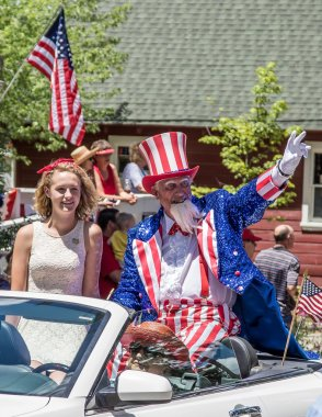 Uncle Sam and the Fourth of July Parade