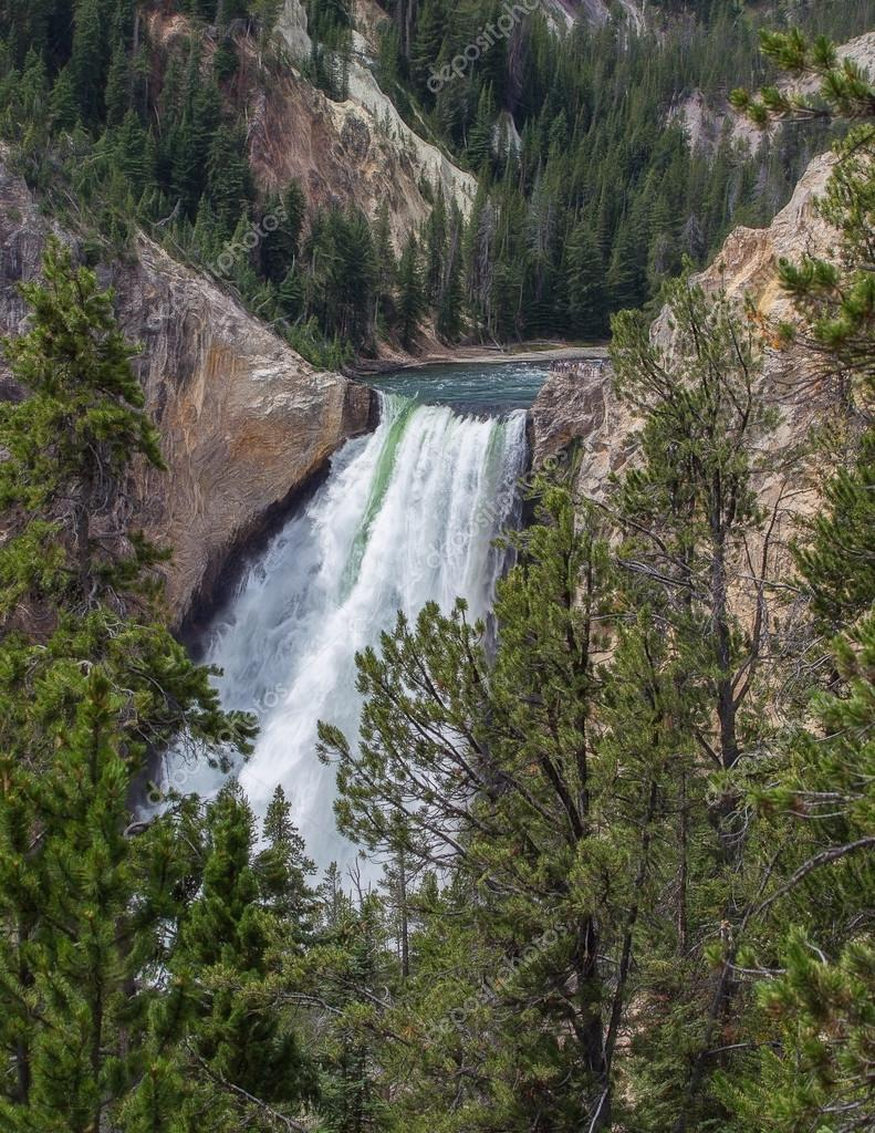 Yellowstone Falls Wyoming