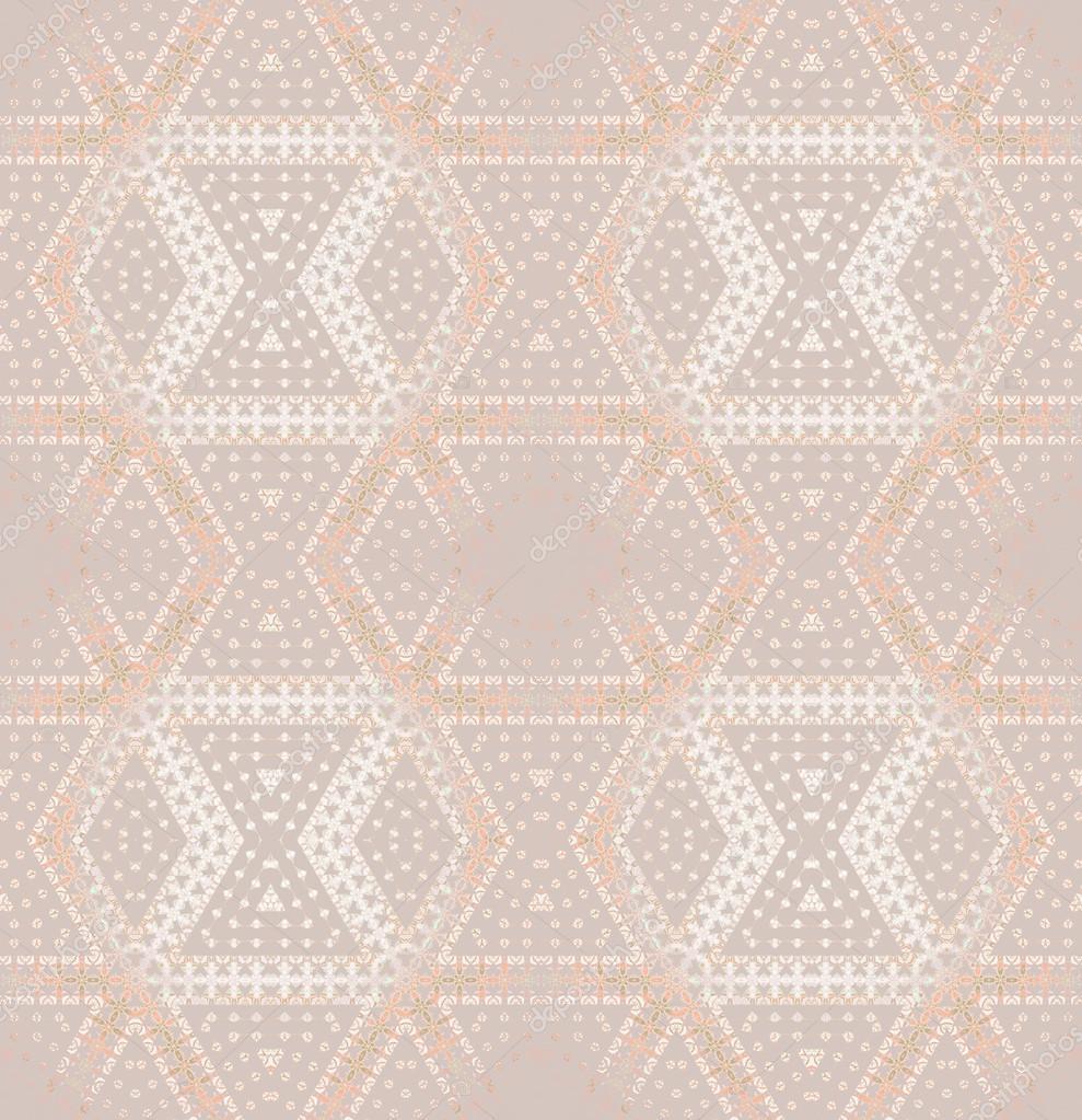 Seamless diamond pattern bray beige pink — Stock Photo © UR-Design