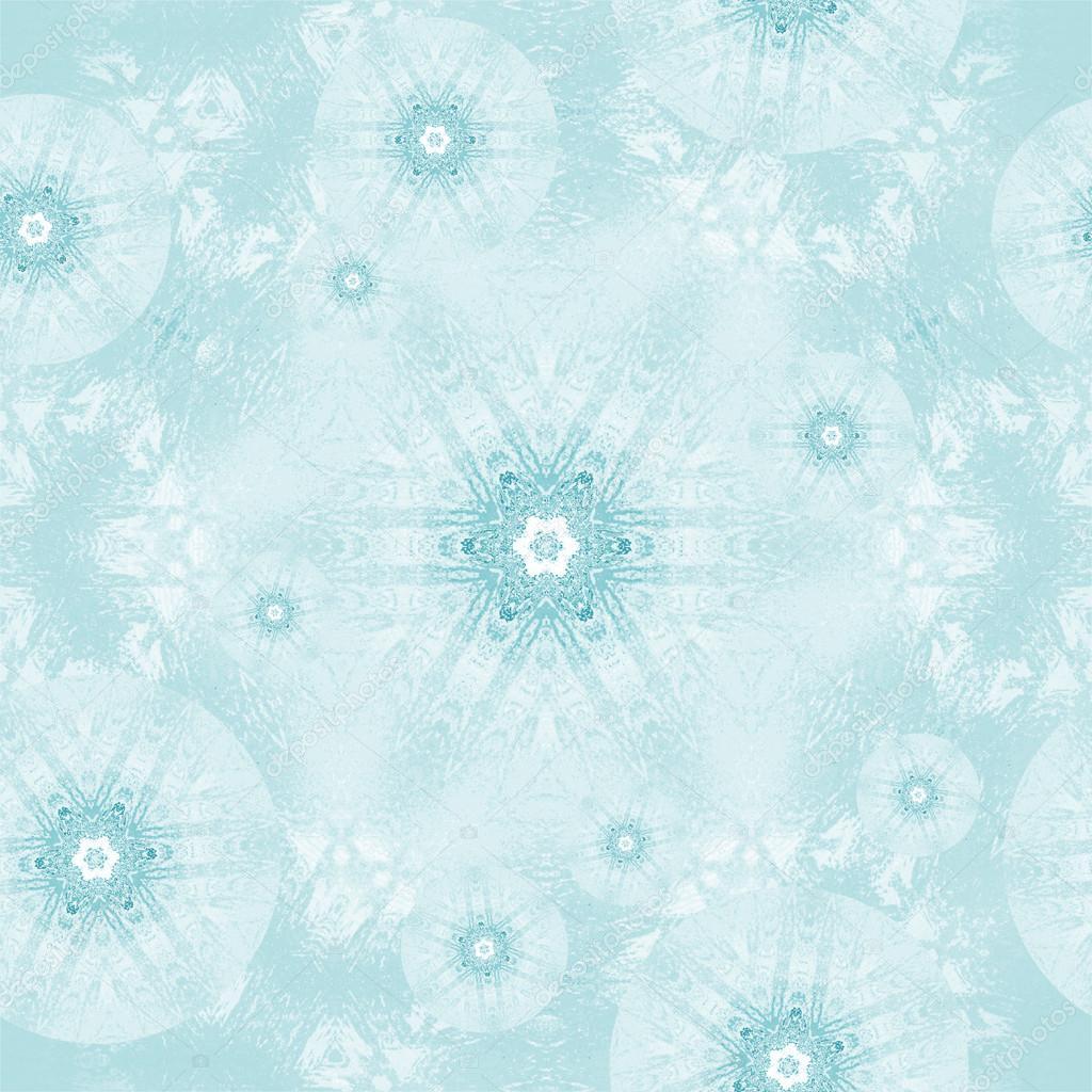 nahtlose frost muster t rkis wei stockfoto ur design. Black Bedroom Furniture Sets. Home Design Ideas