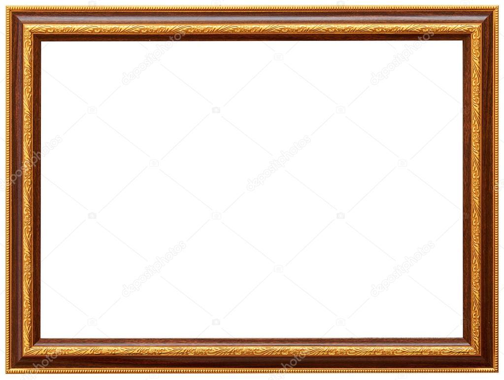 Golden Spiral Flower Frame Wood Frame Simple Design