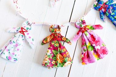 Folk Doll amulet for babies handmade