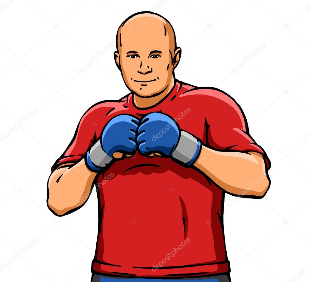 Depositphotos 111183678 stock photo funny cartoon cool mma fighter