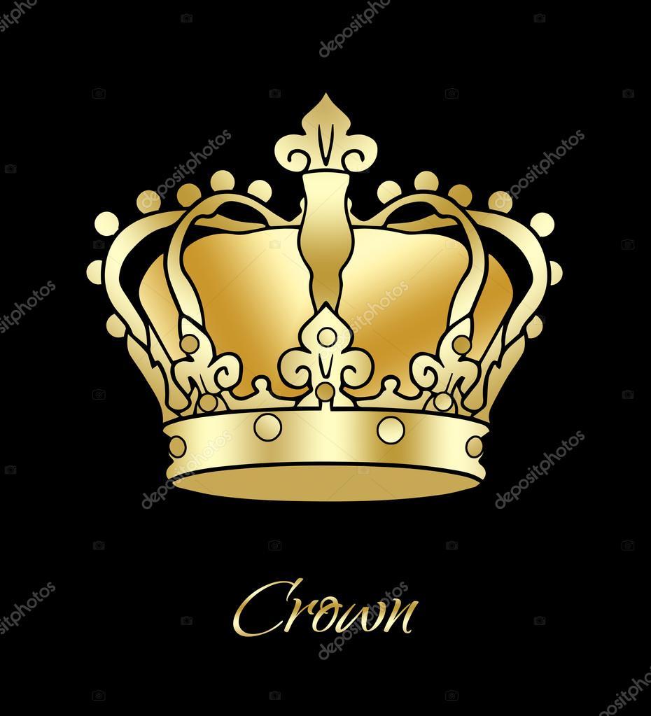 Imágenes Corona De Rey Corona De Rey Ilustración Corona De Oro