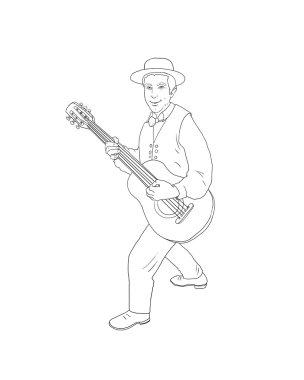 Jazz Musician guitarist