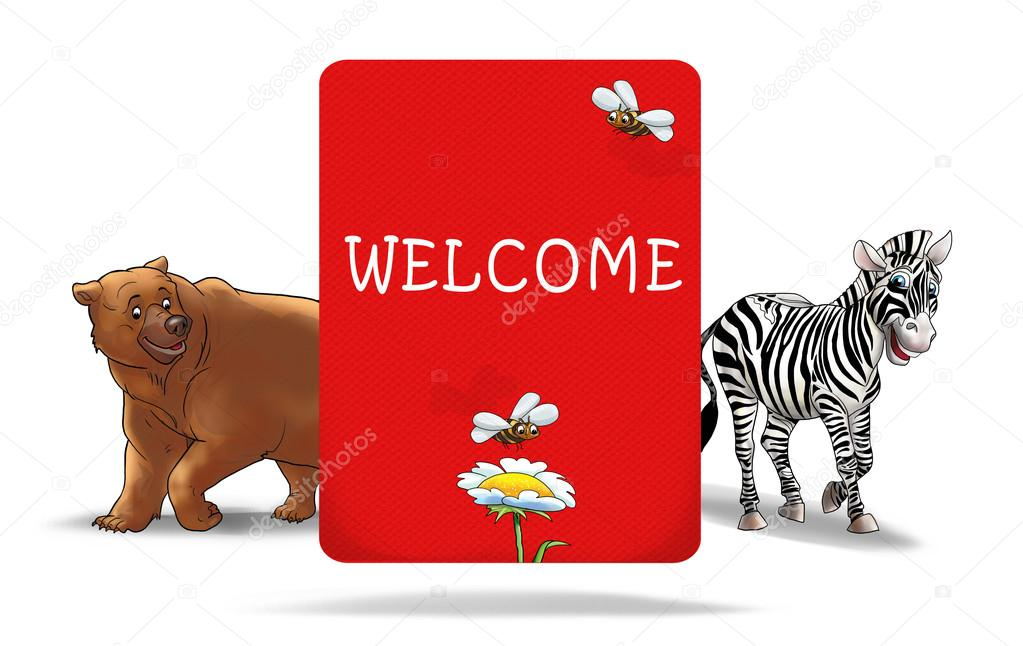 welcome invitation holiday invitation card children party kids