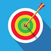 Archery target abstract background. Olympic and Paralympic Games Rio 2016