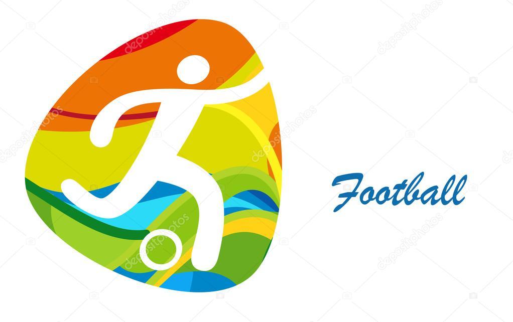 Football Olympics Games Rio 2016 Sport Summer Background Football