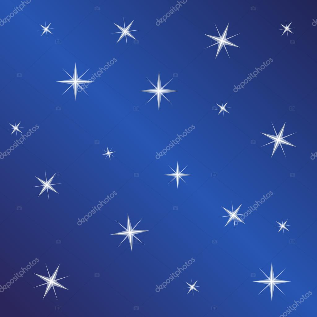 stars on night sky background vector illustration night sky star