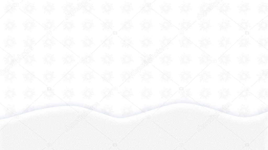 Wallpaper White Abstract Landscape Background Winter Holiday Decorative Festive Ornament With Christmas Elements A