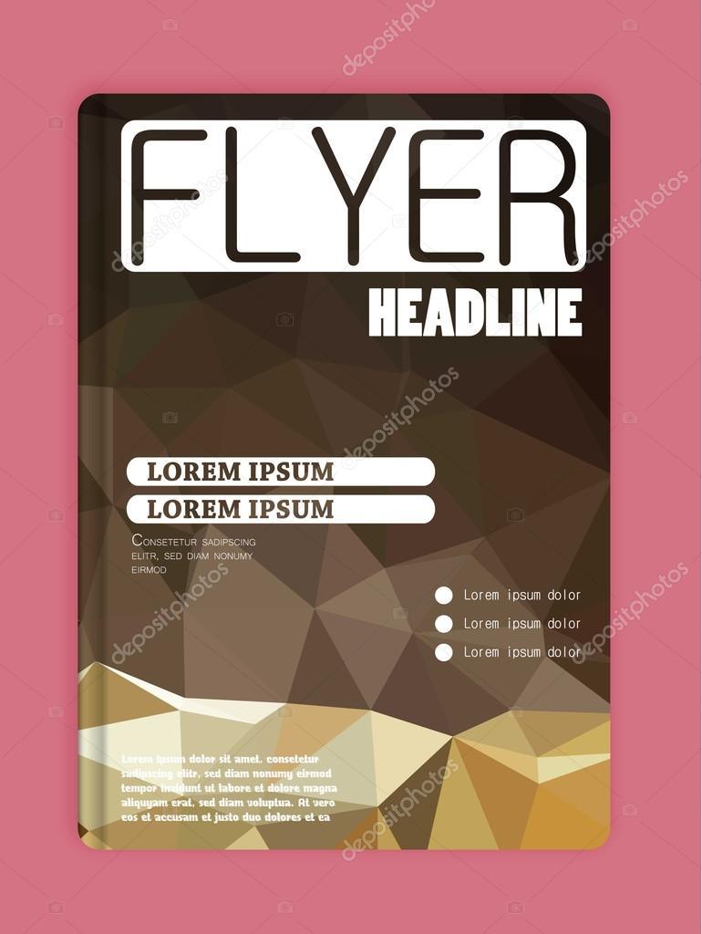 Plantillas de diseño para folletos, volantes, tecnologías móviles ...