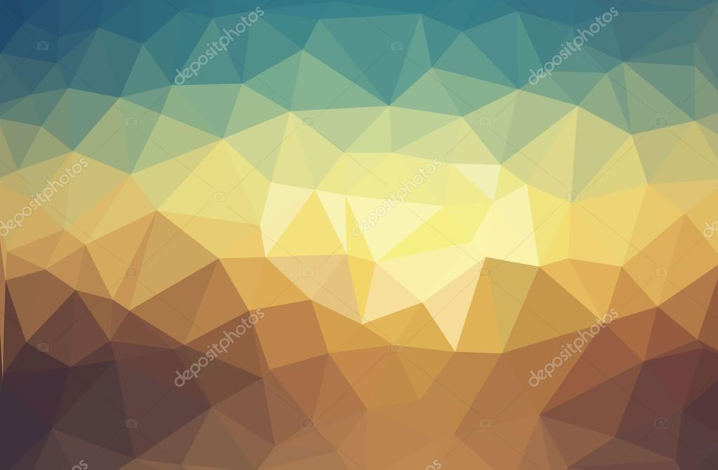 Bright abstract geometric backgrounds  Polygonal vector