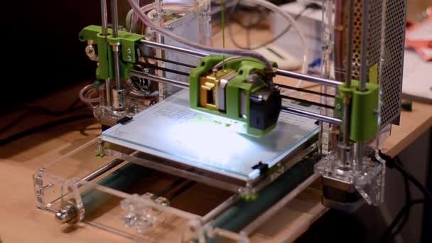 3D printer at work.