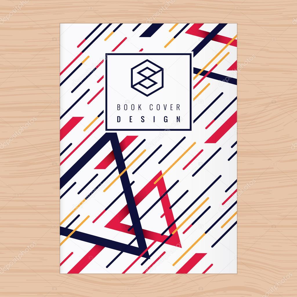 Abstracta fondo para cubierta de libro, cartel, folleto, currículum ...