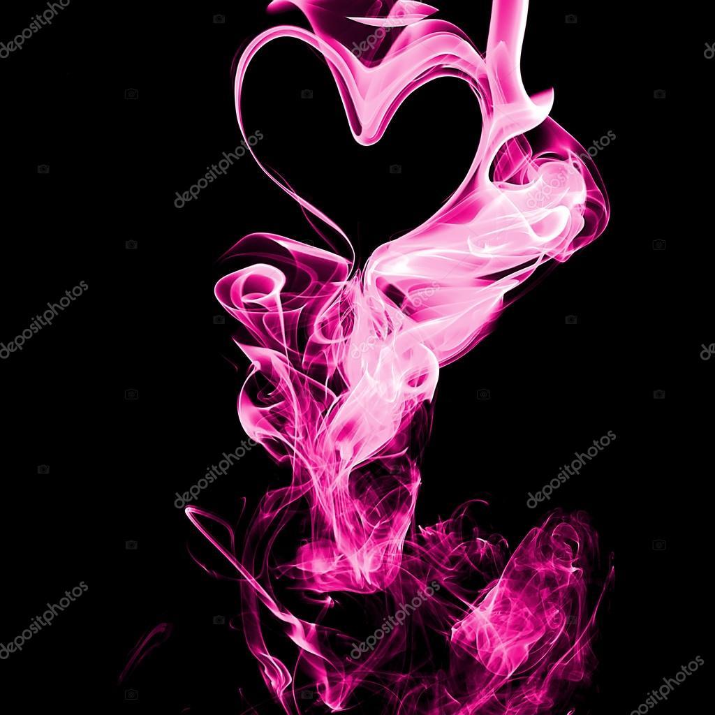 Wallpaper Black Pink: Pembe Siyah Arka Plan üzerine Duman