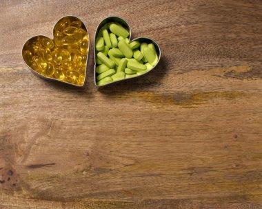 Garlic and calcium  supplements
