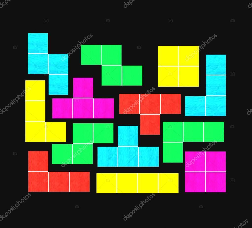 Cubos De Juego Tetris Fotos De Stock C Photo Stella 106934122