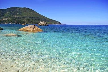 Afales Bay in Ithaca island Greece