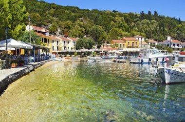 Kioni port in Ithaca island Greece
