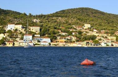 Vathy in Ithaca island Greece