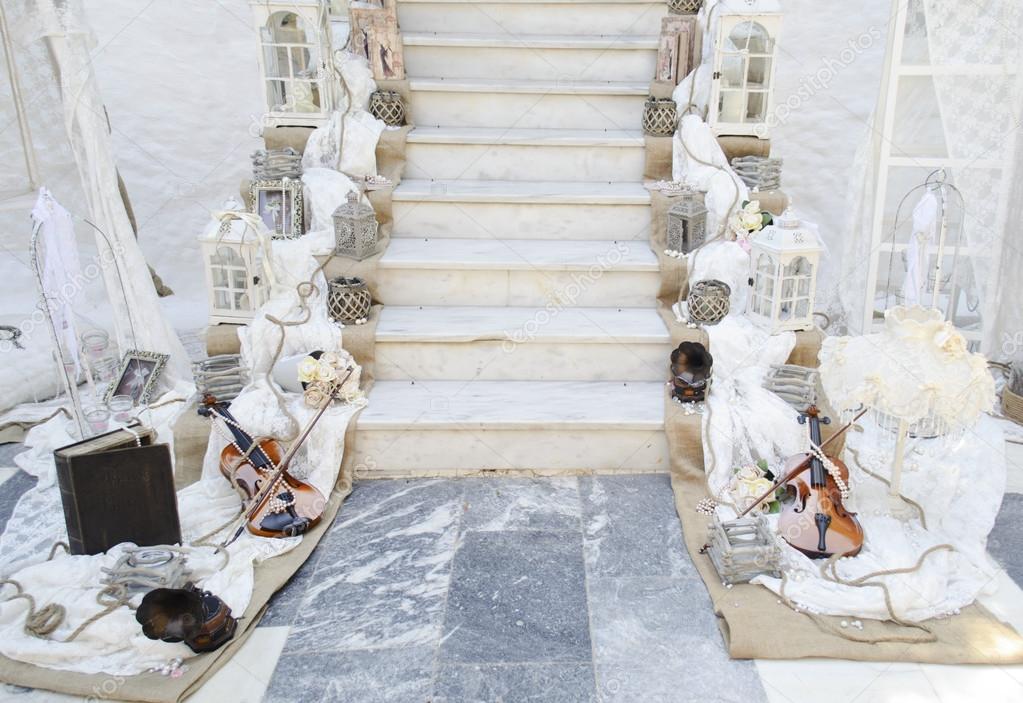 Jahrgang Dekoration Hochzeit Stockfoto C Photo Stella 95924304