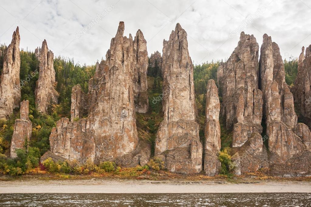 Russia. Yakutia. Lena Pillars.