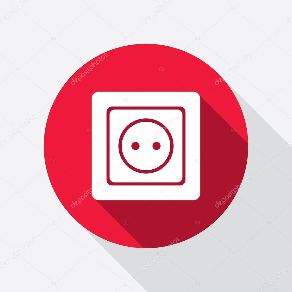Plug Power Stock Quote: Electric Plug Icon. Power Energy Symbol. European Standard
