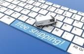 Fotografie Koncepce logistiky a web průmyslu