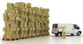 Concetti di logistica industria