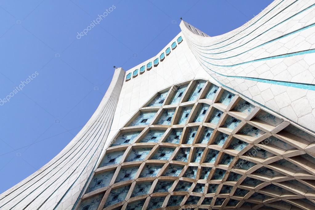 Azadi Tower In Tehran, Iran U2014 Photo By Tostphoto