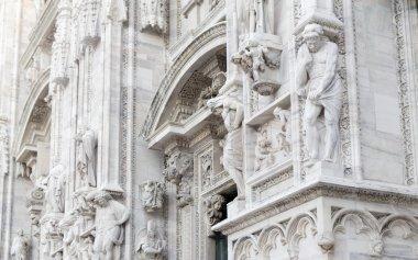 Duomo catholic cathedral in Milan, Italy